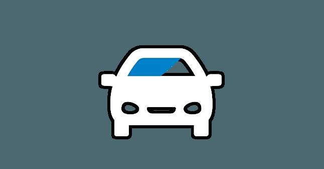 Icoon Raamfolie auto's Merkx