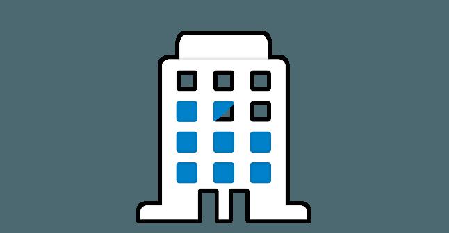 Icoon Raamfolie gebouwen Merkx