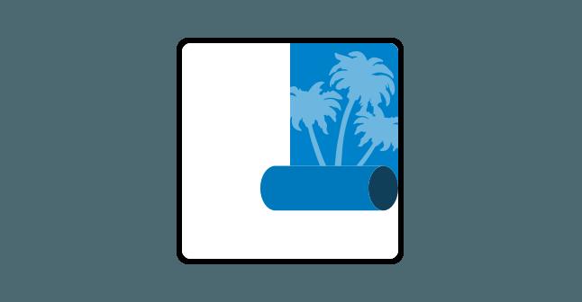 Icoon Wandbekleding Merkx